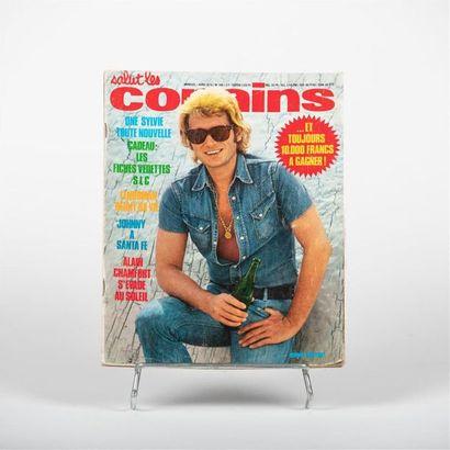 Magazine Salut les copains N°140 - Johnny...