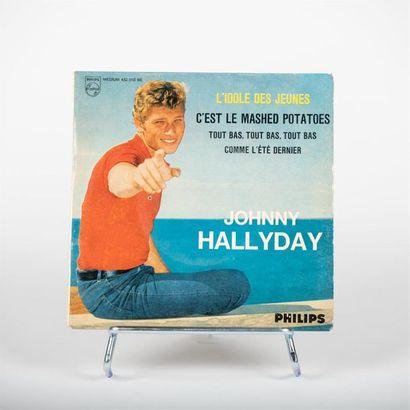 45 T - L'idole des jeunes - Johnny Hallyday...