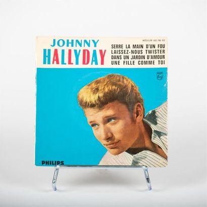 45 T - Serre la main d'un fou - Johnny Hallyday...