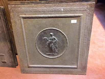 Plaque de cheminée 60x60cm