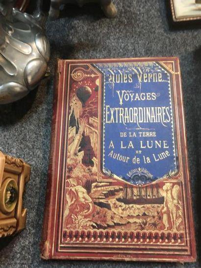 Jules Verne collection Hetzel, reliure a...