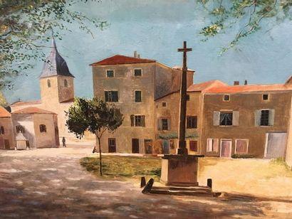 FARGET Le village de Bagnols en beaujolais...