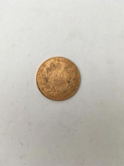 10 francs IIème République Minerve