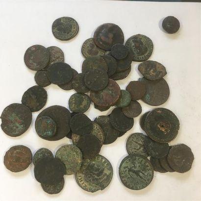 LOT de 50 petits bronzes antiques 50 bronzes...