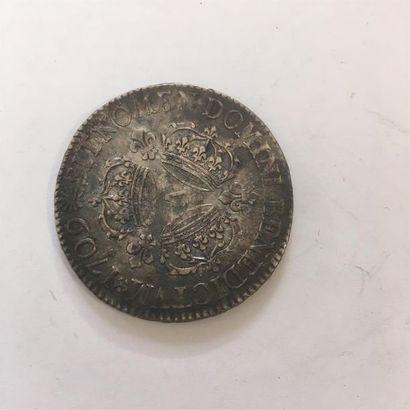 LOUIS XIV ECU AUX 3 COURONNES 1709 A 30,54...