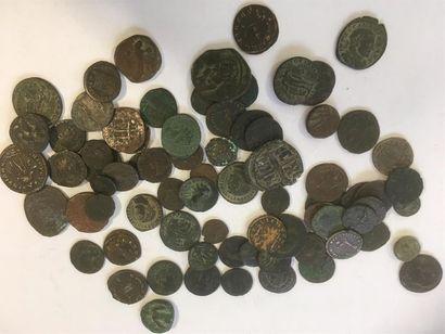 LOT de 74 petits bronzes antiques 74 bronzes...