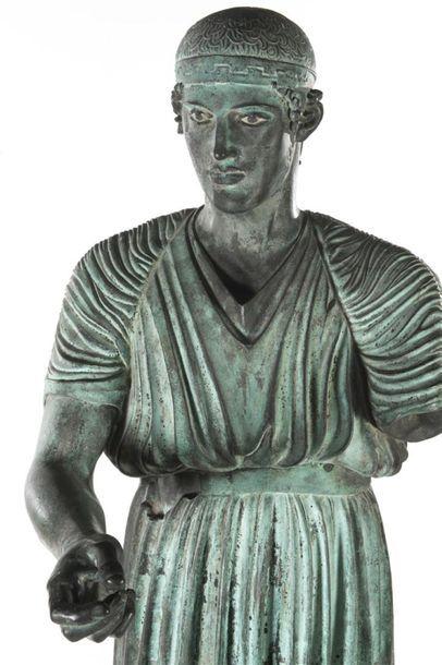 L'aurige de Delphes D'après l'Antique Importante...