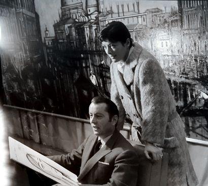 Bernard BUFFET Bernard BUFFET (1928-1999)- Portrait de femme, 1963 -Dessin au feutre...