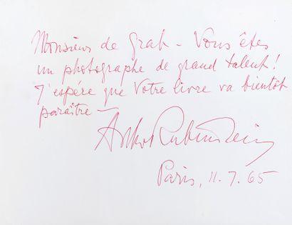 Richard de GRAB Richard de Grab - Albert Rubinstein - Montage photographique - Au...