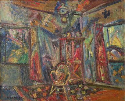 PINCHUS KREMEGNE (1890 - 1981)