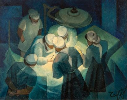 Louis TOFFOLI (1907-1999) - Les chirurgiens...