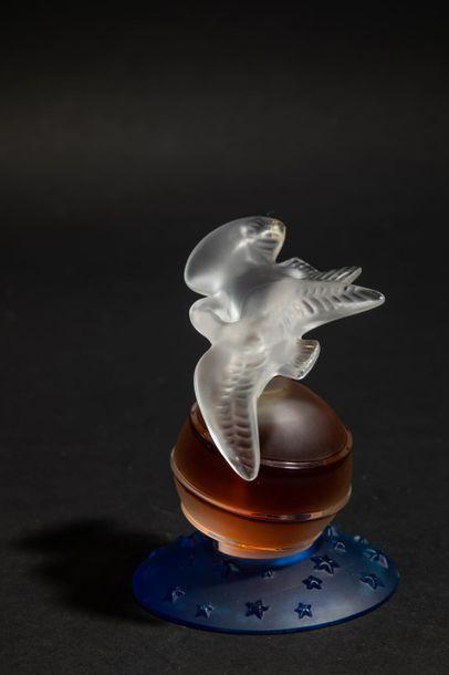 NINA RICCI « L'Air du Temps » Flacon en cristal...