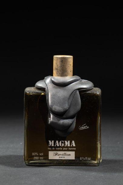 CESARREVILLON« Magma » Flacon en verre...