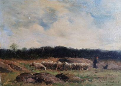 Paul CHAIGNEAU (1879-1938) – Le berger et...