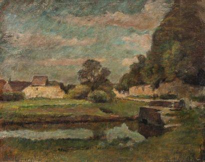 Vente d'atelier : Franck BAIL (1858-1924)...