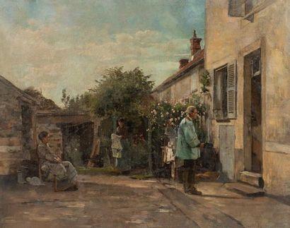 Vente d'atelier : Joseph BAIL (1862-1921)...