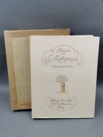 DIDEROT - La religieuse - Illustré par Victor...