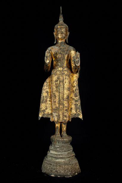 Thaïlande, dans le goût de Ratanakosin. Bouddha...