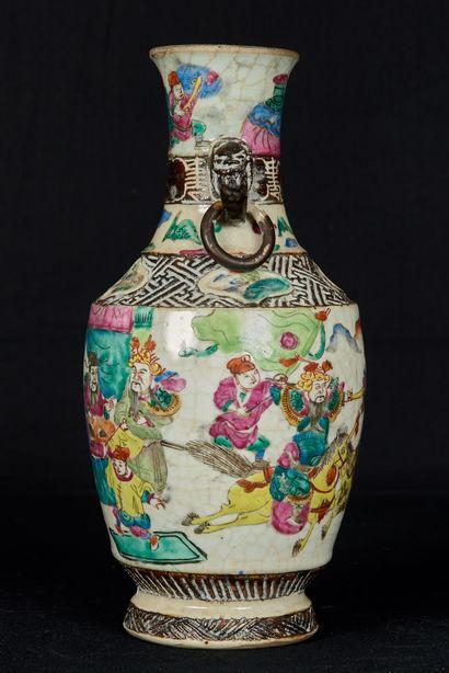 Chine, Nankin, début XXème siècle, marque...