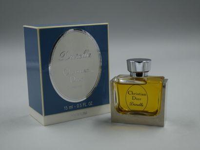 Christian Dior. Diorella. Flacon en verre...
