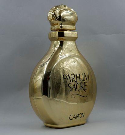Caron. Parfum sacré. Flacon géant de décoration...