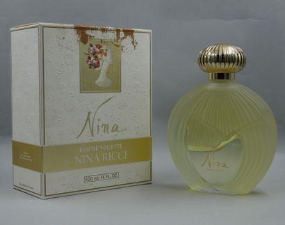 Nina Ricci. Lalique. Nina. Flacon en verre...