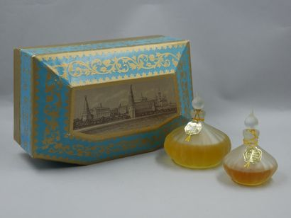 Parfum Novaya Zarya. Coffret de style baroque...