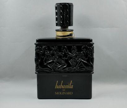 Exceptionnel Molinard Lalique. Flacon de...