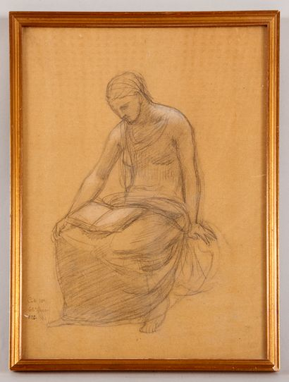 Pierre PUVIS DE CHAVANNES (1824-1898) - Jeune...