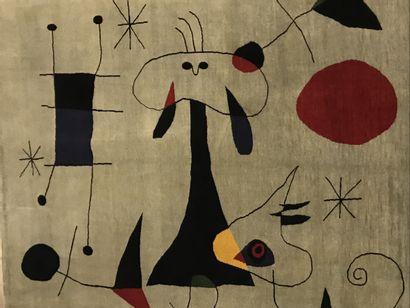 Tapis moderne contemporain XXème - D'après...