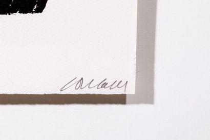 Pierre SOULAGES (né en 1919) - Estampe - Lithographie n°21 - 1969 - MOURLOT PARIS...