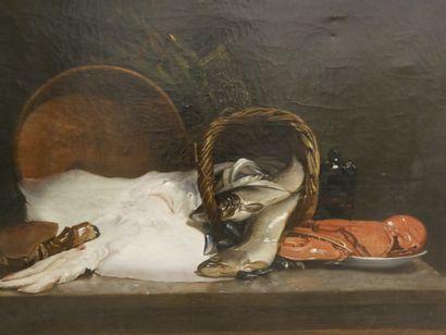 Joseph de RUYSCHER (Actif à la fin du XIXème...