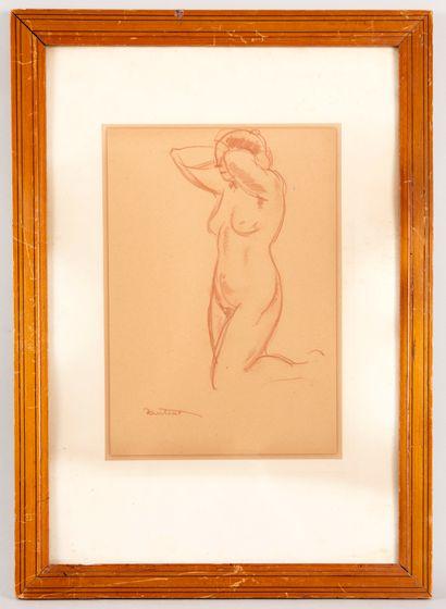 Louis ANTRAL (1895-1939) - Jeune femme se...