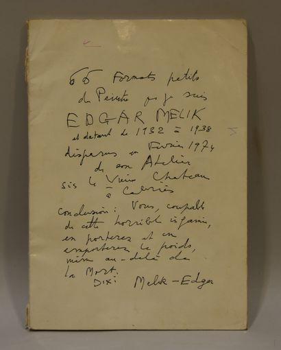 Edgar MELIK (1904-1976) -