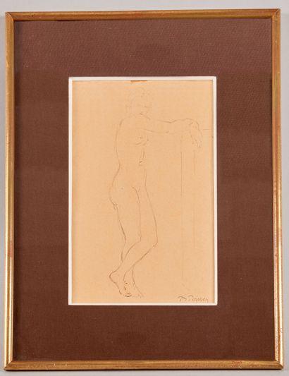 Pierre Marie POISSON (1876-1953) - Nu debout...
