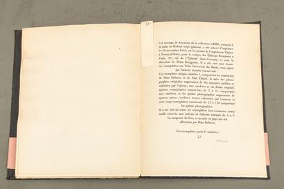 Hans BELLMER (1902-1975) Les jeux de la poupée - 1949 - Textes de Paul ELUARD (1895-1952)...