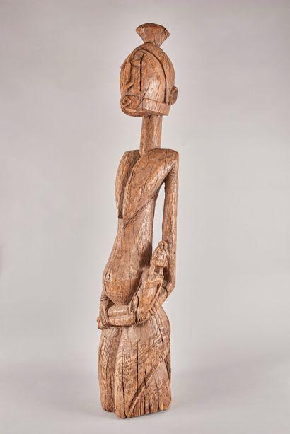 AFRIQUE DE L'EST DJORAI - Sculpture en bois...