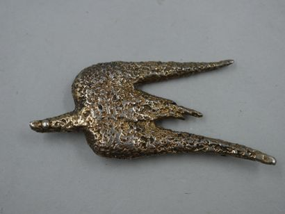 George BRAQUE - (1882-1963) - Broche oiseau...