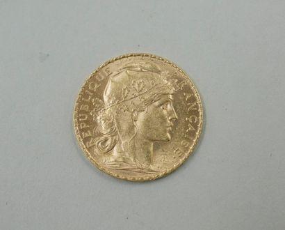 Pièce de 20 Francs or 1901 - Poids : 6,4...
