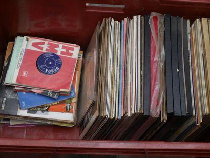 Manette de vinyles