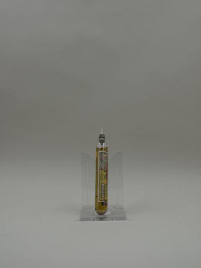 LE LANCE PARFUM RODO « Héliotrope »  Flacon ampoule, belle étiquette décorée d'une...