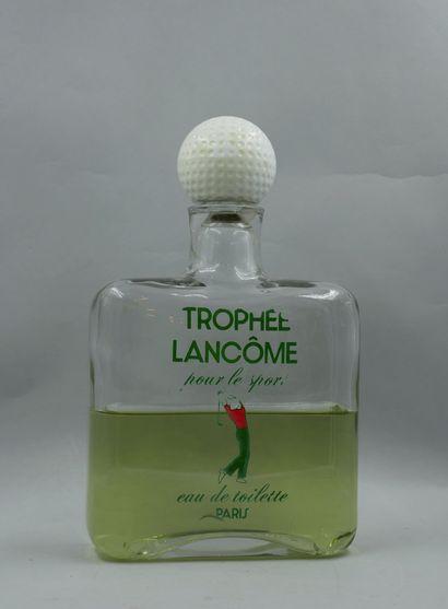 LANCÔME « Trophée »  Flacon factice, géant...