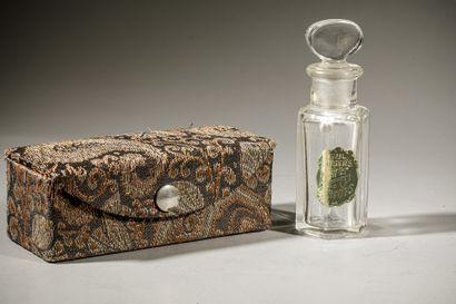 RIEGERES « Flower Drops » Flacon en verre...