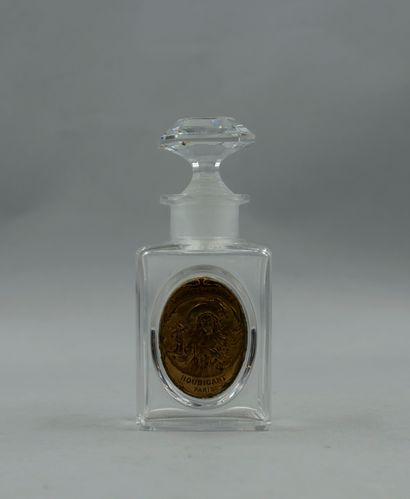 HOUBIGANT « La rose France »  Flacon en verre...