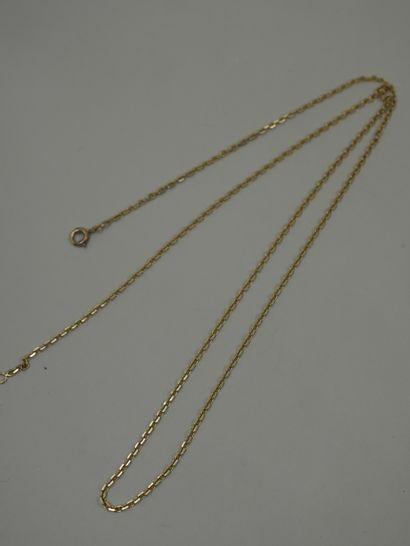 Chaine or jaune - 9,90gr