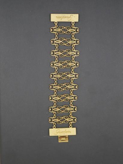 GUERLAIN  Rare bijoux fantaisie, bracelet...