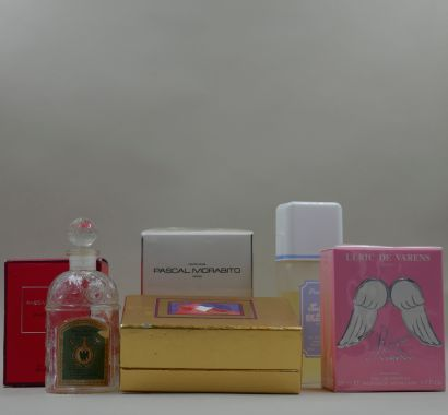 Lot de flacons de parfum : Pascal Morabito,...