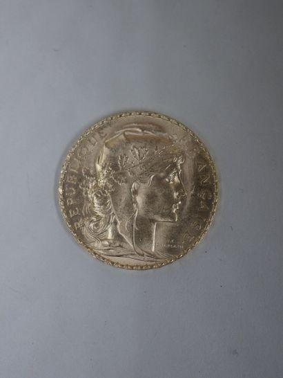 20 francs or - 1908 - 6,40gr