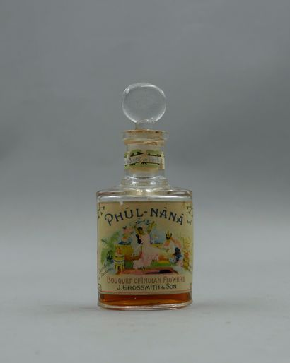 GROSSMITH « Phul‐Nana »  Flacon en verre...