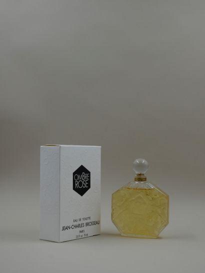 JEAN-CHARLES BROSSEAU « Ombre rose »  Flacon...